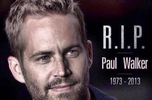 Article : Paul Walker est mort … Votre réaction ?